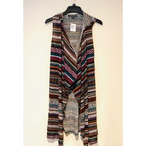 NWT Almost Famous Tribal Cardigan